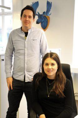 Amanda och Daniel